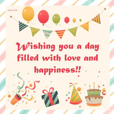 Wishing You A Day Filled
