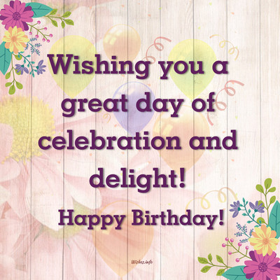 Short Birthday Wishes